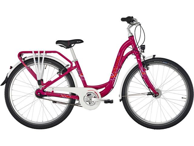 "Puky Skyride Light 24"" Bicicleta 7 marchas Niñas, berry"